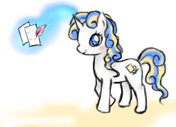 MLP charater requests- Ocean writter by Eeveelutions95