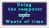 Computer Appreciation Stamp! by NorroenDyrd