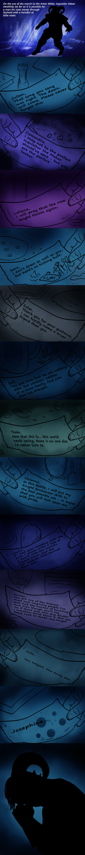Words of Farewell by NorroenDyrd