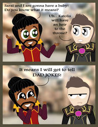 TDP: The Happiest Day of Prince Harrow's Life by NorroenDyrd