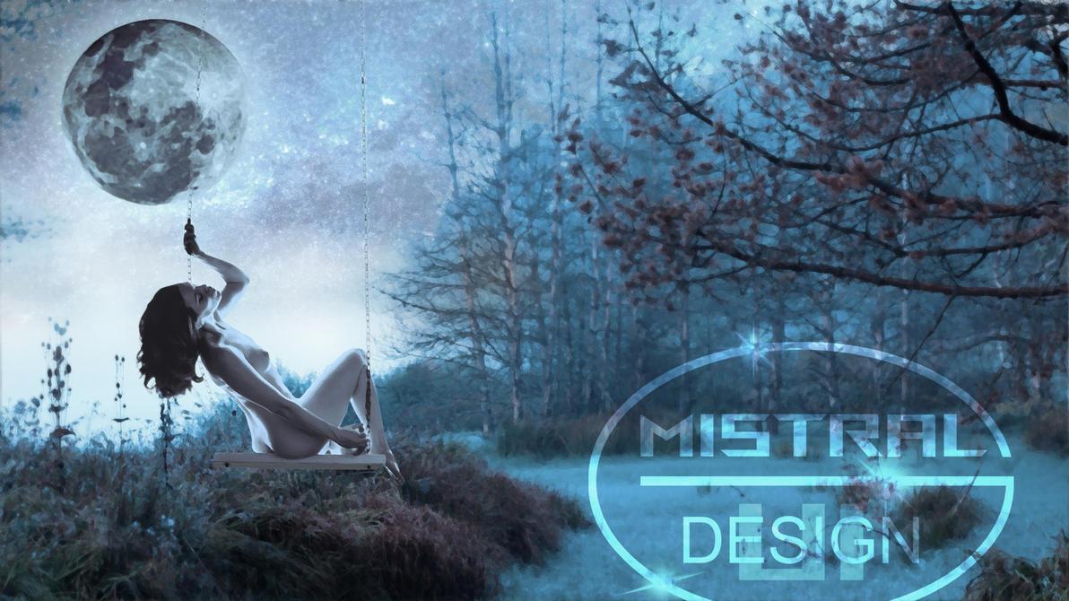 A Blue Dream signature by Mstrl