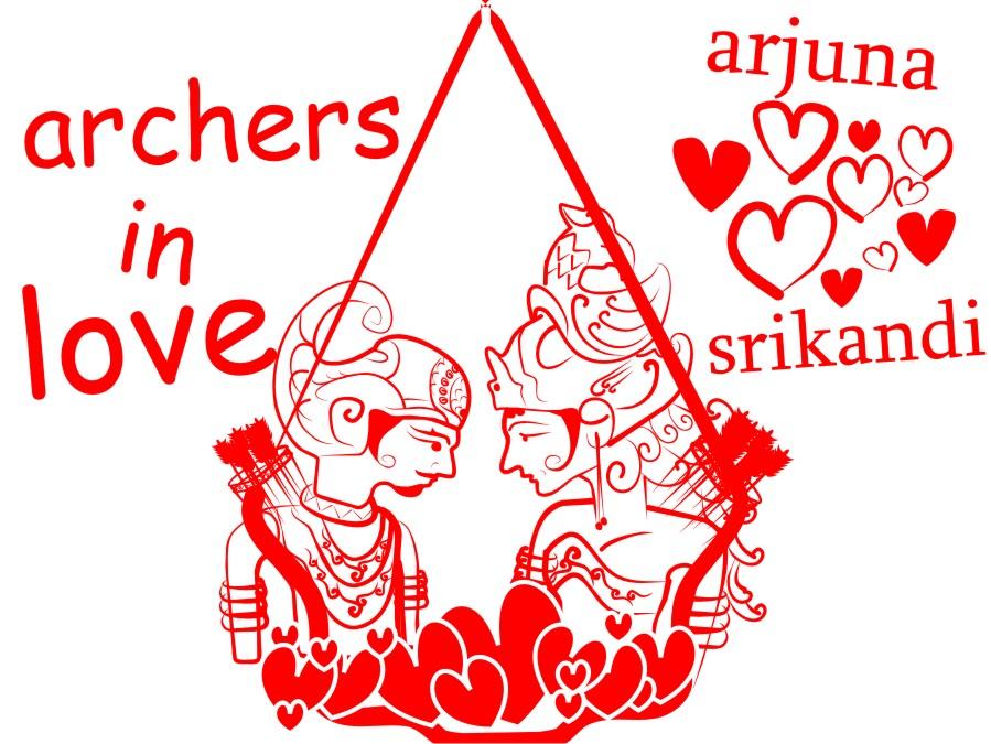 Arjuna Et Srikandi By Daunmelayang168 On Deviantart