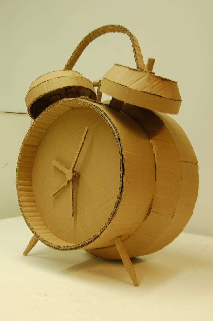 Alarm Clock Cardboard Replica by operationchinatown on ...