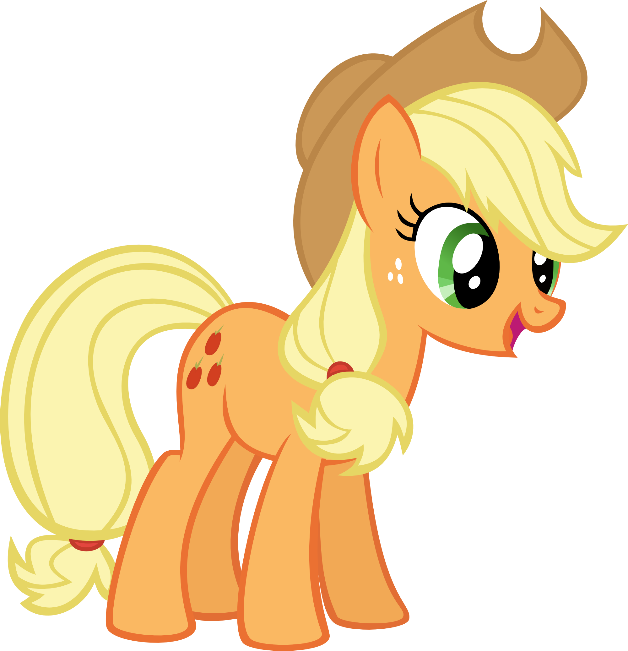 Applejack by Pegasus-Drake