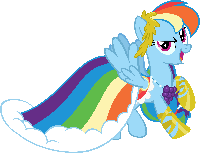 rainbow dash gala dress - photo #13