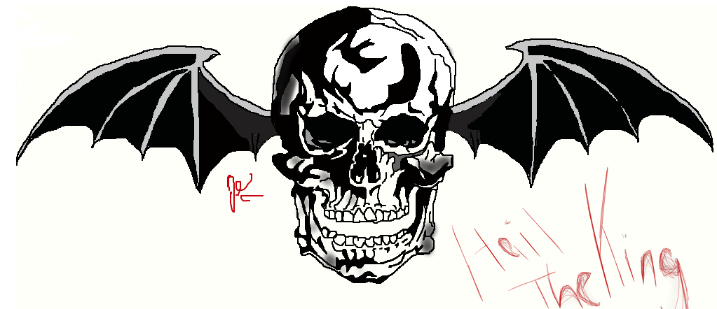 Avenged sevenfold logo by jessiekorverxx