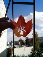 Tree leaf cutting