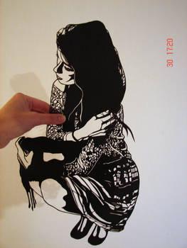 Self Portrait Paper Cutting