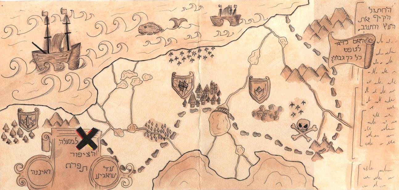 Treasure Map by EllaBaras