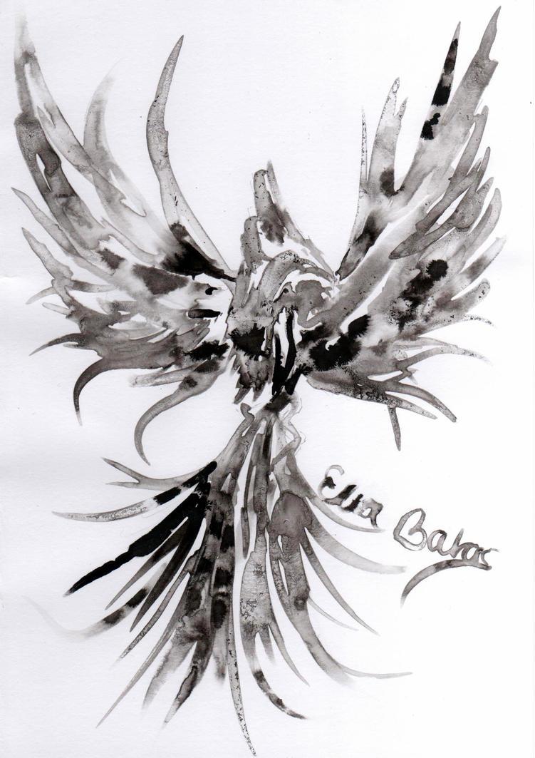 Ink Phoenix by EllaBaras