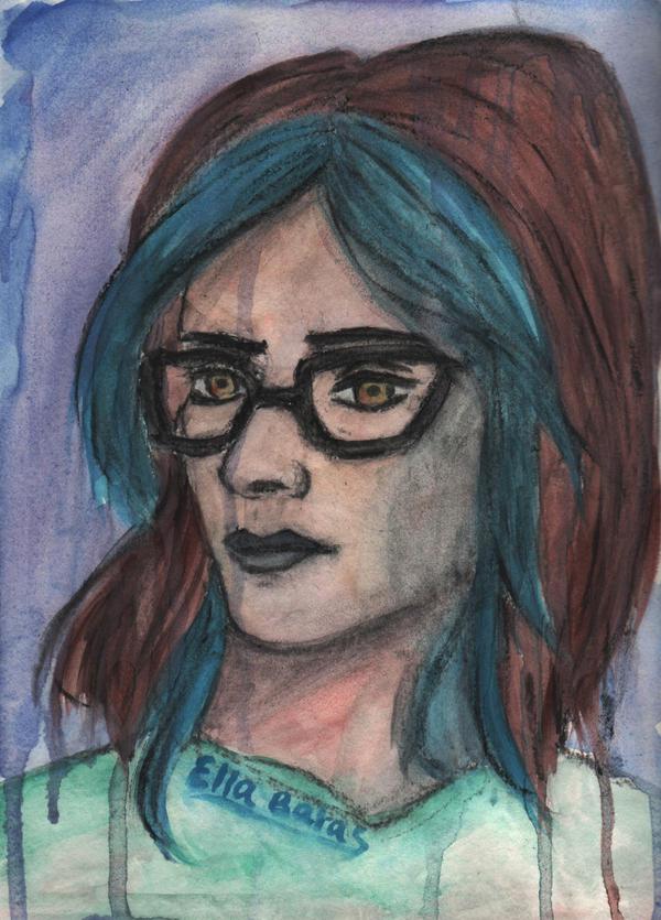 Self Portrait by EllaBaras