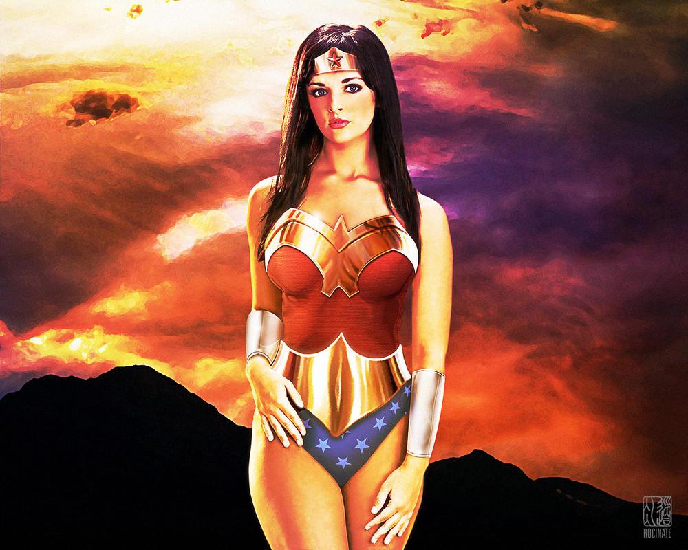 Wonder Woman: Sunset 1280x1024 by ROCINATE