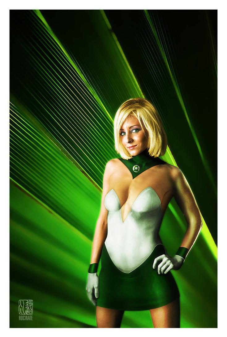 Green Lantern Arisia by ROCINATE