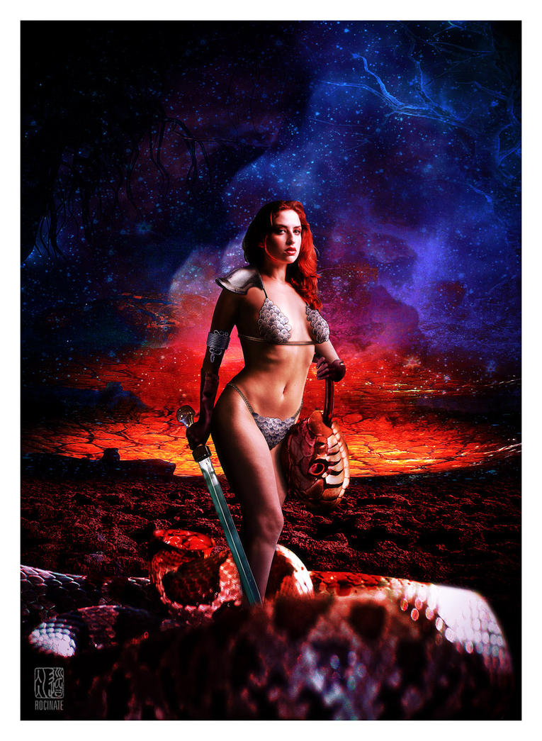 Red Sonja by ROCINATE