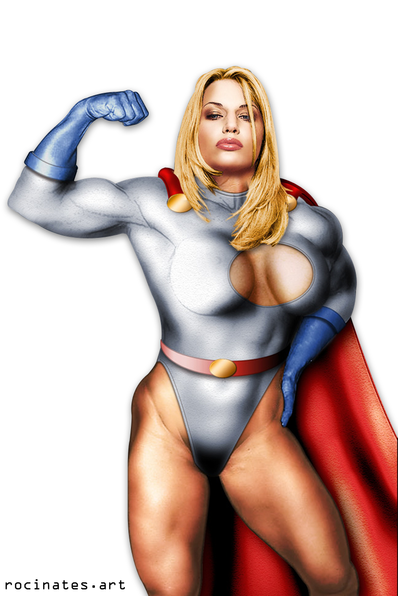 Lots of Power Girl! by ROCINATE