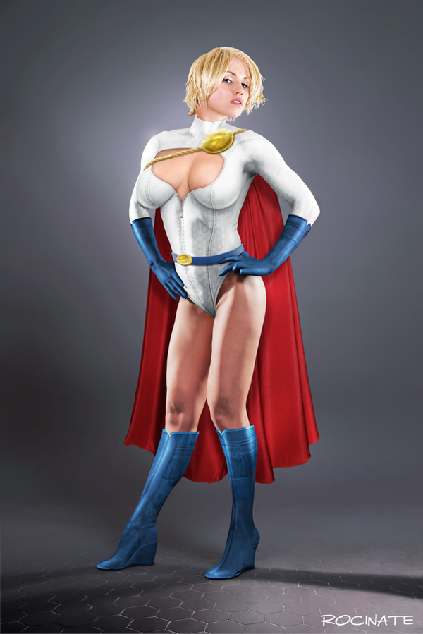 Dream Powergirl by ROCINATE