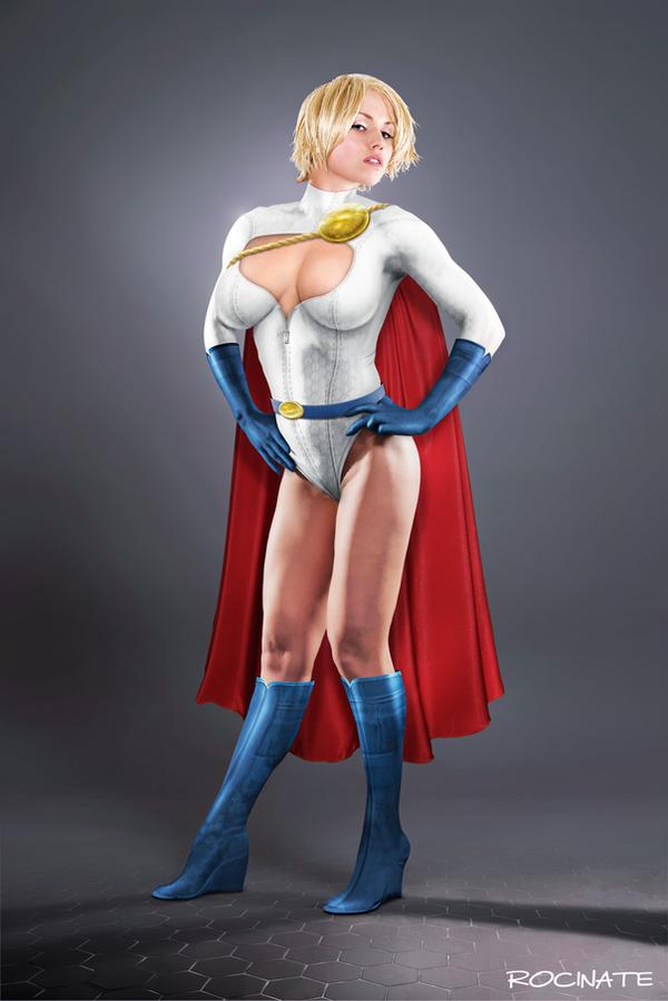Dream Powergirl by ROCINATE