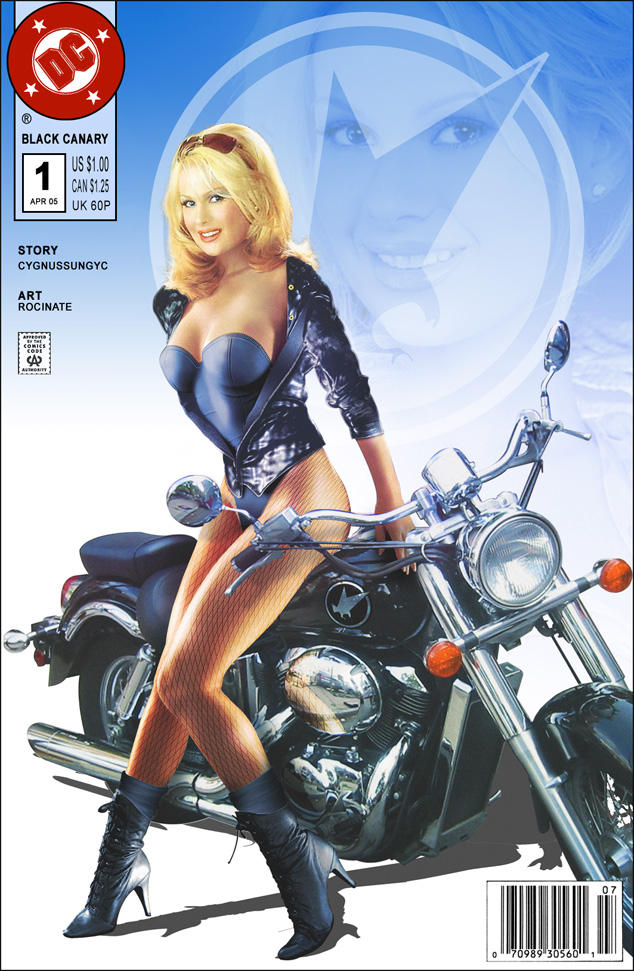 Black canary motorcycle