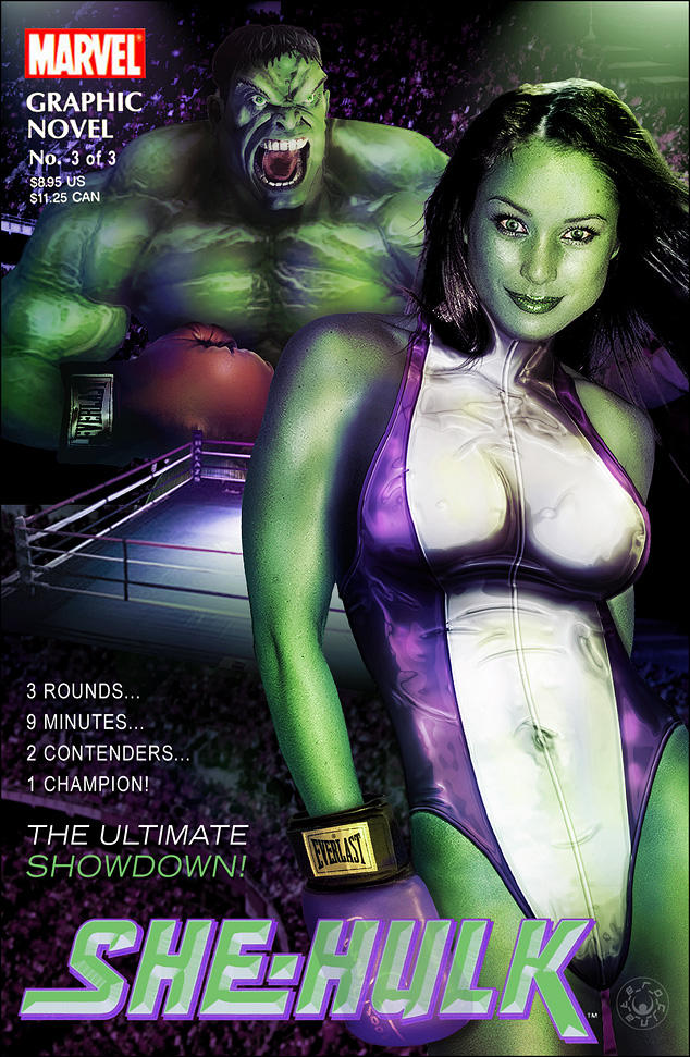 She-Hulk - Issue 3 by ROCINATE