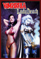 Vampirella - Lady Death by ROCINATE