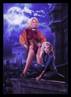 Terra and Ravager Night Patrol by ROCINATE