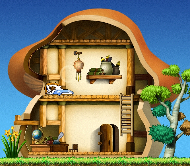 maplestory house on JumPic com