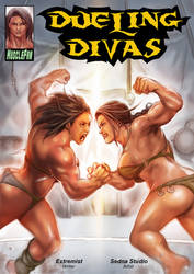 Dueling Divas - Undefeated by muscle-fan-comics