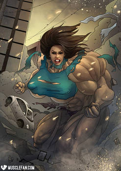 Teenage Mutant Hulk Irma