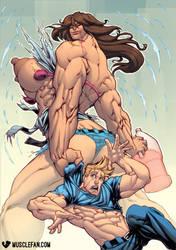 Jug of Muscle Growth Serum by muscle-fan-comics