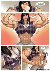 Girl Power by muscle-fan-comics