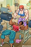 Weightlifting Muscle Women
