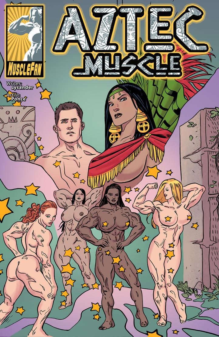 Aztec Muscle 4 - Xochiquetzal Dreams by muscle-fan-comics