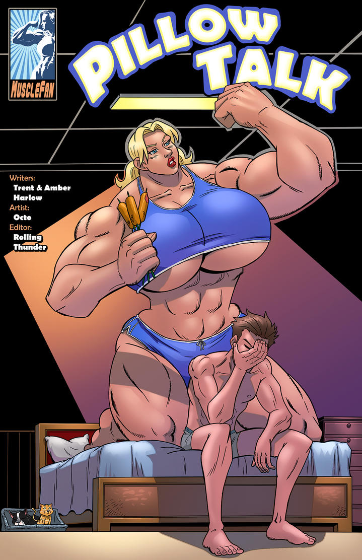 Pillow Talk - Robust Roleplay by muscle-fan-comics