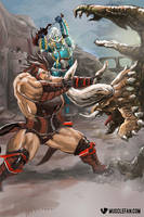 Monster Hunter Muscle Growth by muscle-fan-comics