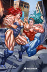 May the Best Muscle Queen Win