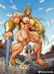Super-Mega-She-Ra by muscle-fan-comics