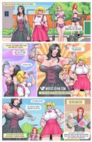 Weirdo Weaklings Wow Workout Women by muscle-fan-comics