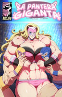 La Pantera Giganta - Lustful Luchadora by muscle-fan-comics