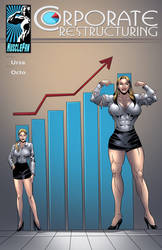Corporate Restructuring - Power and Profits by muscle-fan-comics