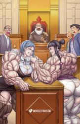 Amazon Ace Attorney 2: Arm-Wrestling Showdown!
