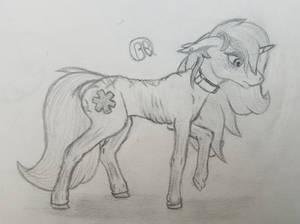 sad slave pone