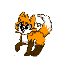Fluffy Fox by RYukitsume