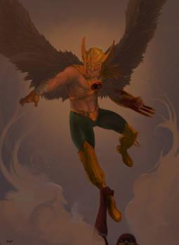 Happy Hawkman