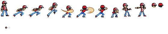 Pokemon Trainer Red Sprite Images | Pokemon Images