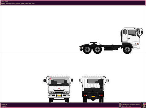 Mitsubishi Fuso FV Series Tractor Head Truck