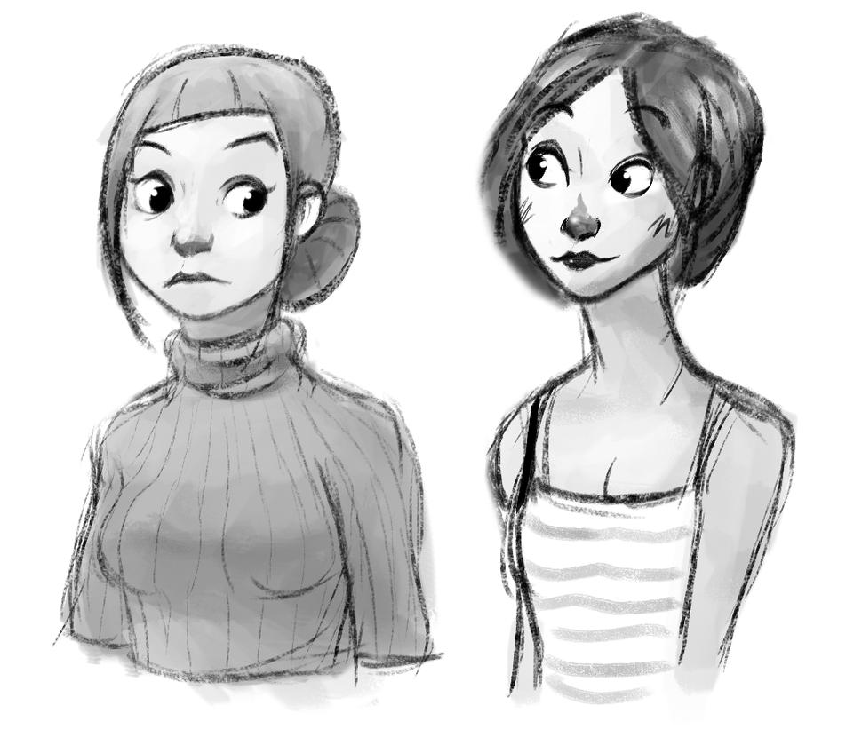 Random Sketch by Maydic