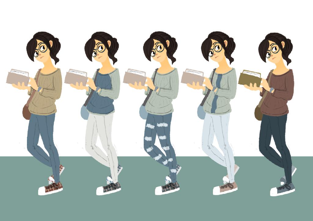 Character Design - Nat by Maydic