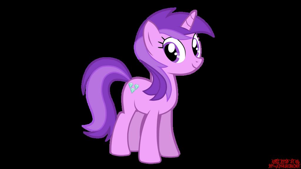 my little pony amethyst star by eugenebrony on deviantart