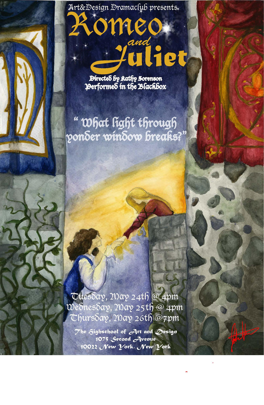 Romeo and Juliet Poster by KingofInferi on DeviantArt