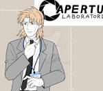 Togusa in Aperture Laboratory